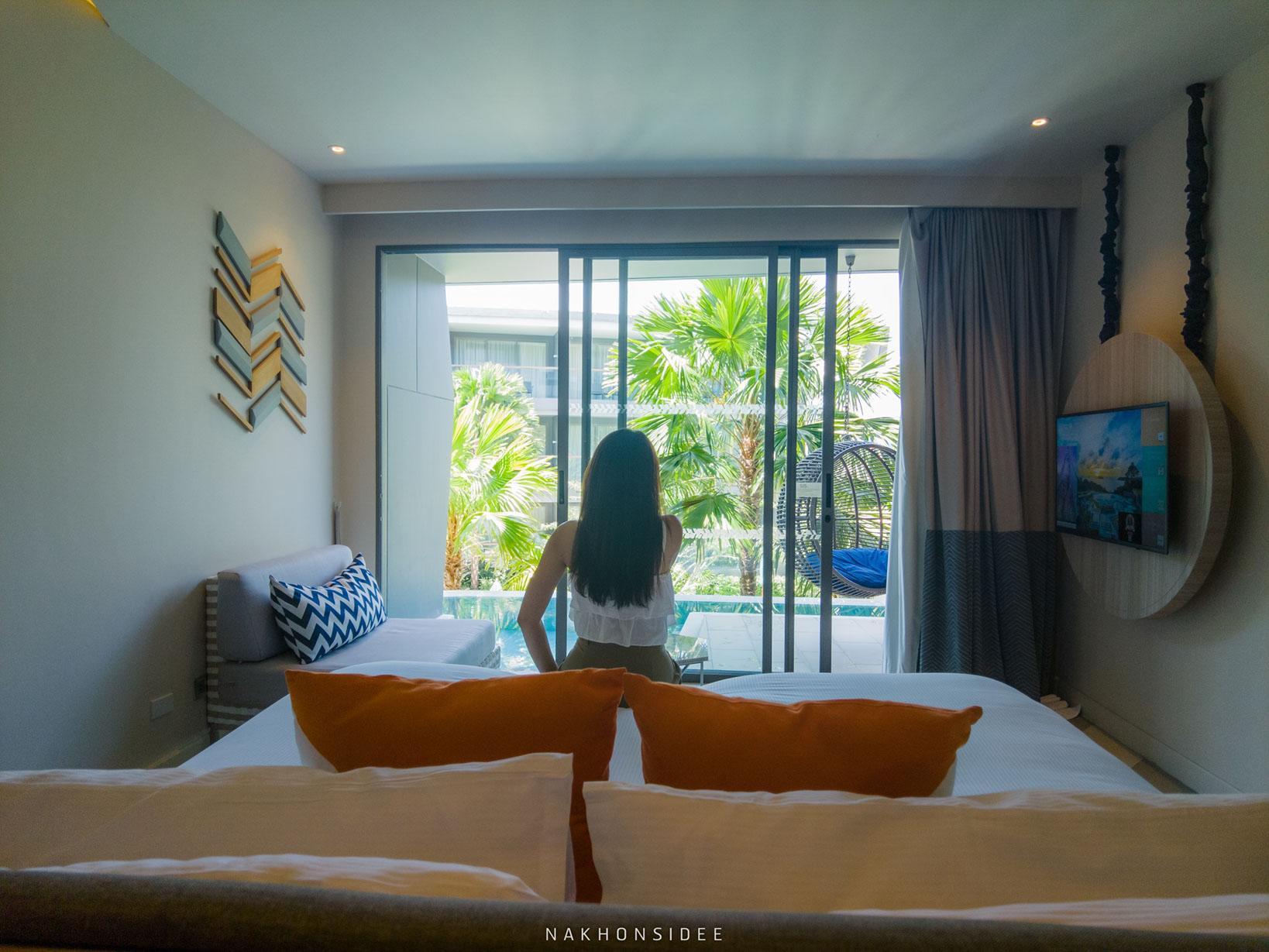 อันนี้ห้องพักแบบมีสระส่วนตัว  thesis,kata,ที่พักภูเก็ต,phuket,หาดกะตะ,เดอะซิสภูเก็ต