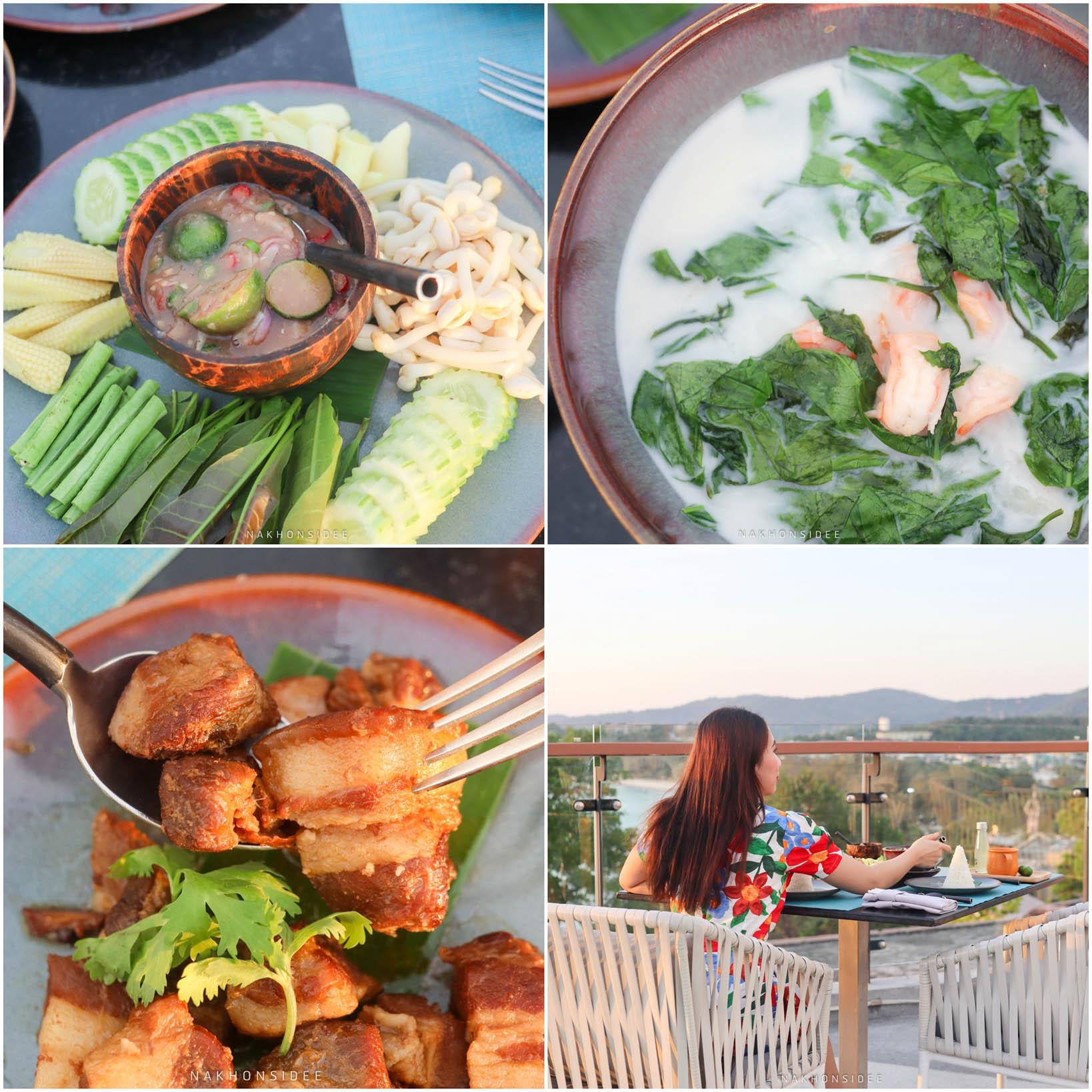 และเรื่องอาหารยังไม่จบเพียงเท่านี้-มีอาหารไทย-อาหารปักษ์ใต้สไตล์ภูเก็ตด้วย-ได้คุยกับเชฟคือตั้งใจมากๆครับแต่ละเมนู-อร่อยด้วยน้า  thesis,kata,ที่พักภูเก็ต,phuket,หาดกะตะ,เดอะซิสภูเก็ต