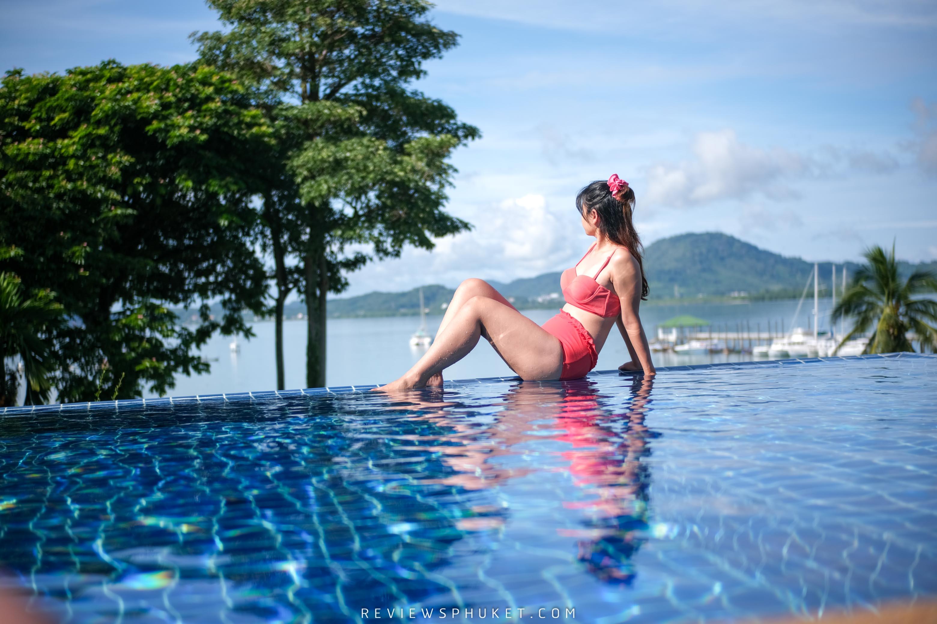 สระว่ายน้ำ-infinity-pool สวยๆ ที่พักหรูภูเก็ต,ยามู