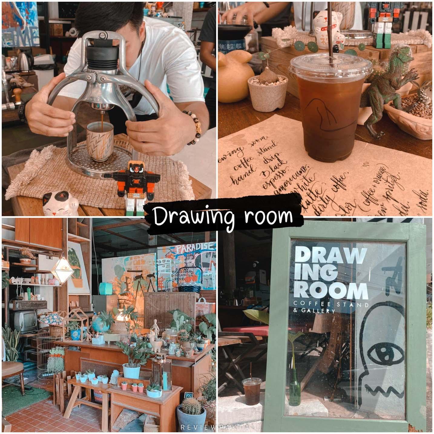 ร้านกาแฟแปลกใหม่แนวศิลปะ Drawing room coffee and gallery สายศิลป์สายนั่งชิลๆต้องมาปักหมุดกันแล้วจ้า