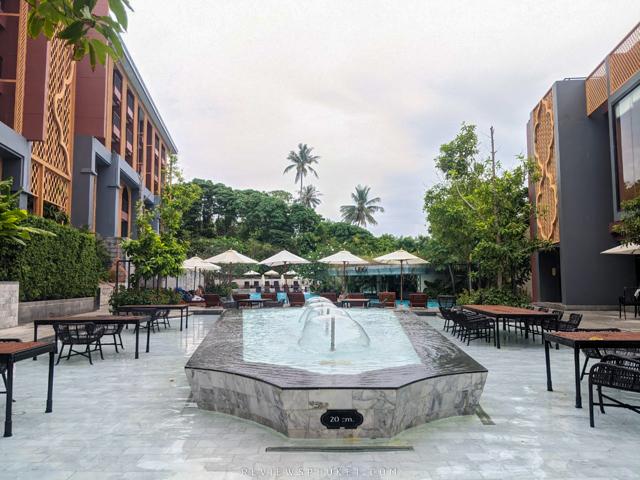 ที่พักโอบล้อมไปด้วยสีเขียวสวยๆ  avista,grande,phuket,karon,ที่พักภูเก็ต