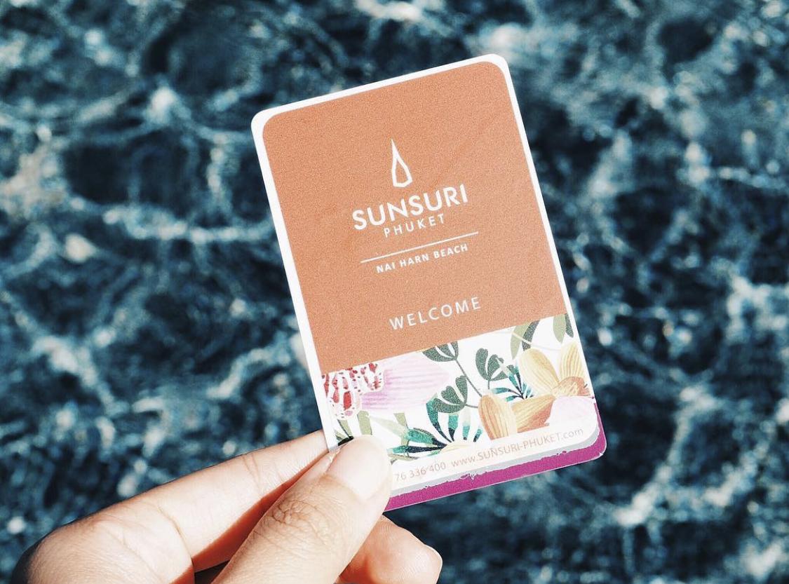 คีย์การ์ดน่ารักๆ  sunsuri,ที่พักภูเก็ต,สันติ์สุริย์
